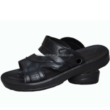 Moda 2015 superior de la pu sandalias de los hombres, venta al por mayor baratos de verano sandalia de cuero zapatos
