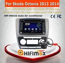 HIFIMAX A9 CPU skoda octavia double din car radio skoda octavia in car radio with bluetooth with skoda octavia reversing camera