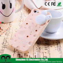 mickey mouse 3d cute silicone case for iphone