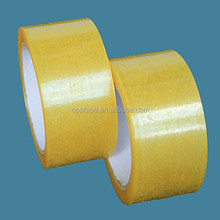 China manufacture clear packing tape box sealing tape bopp material