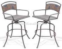 deeco del consumidor de productos de mosaico de roca silla de la barra de muebles