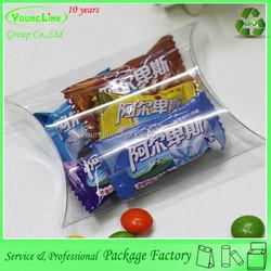 High quality custom logo printing clear plastic box,plastic packaging box,pet pp pvc box