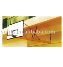 Sofits Basketball Wall Shelves SuperMount Performance Wall-Mounted Basketball Hoop with 60 Inch Backboard Basketball Goal