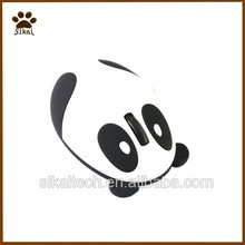 New design panda shape rechargeable wireless optical mouse