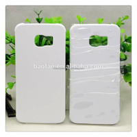 Year-end promotion! 3d sublimation blank hard pc cell phone case for samsung sublimation galaxy case S6 edge