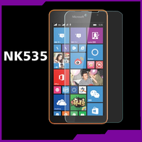 Anti finger print mobile Phone Tempered glass Screen Protector For nokia 535