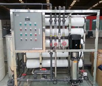 Ion exchange mixed bed portable water treatment unit