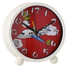 Discount plastic bedside alarm clock for boy's room / wholesale novelty gifts