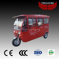 passenger use closed body electric tricycle e rickshaw