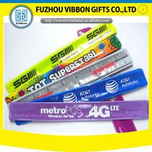 holidays colorful neon slap bracelet for event