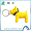 blue dog soft pvc usb drive for 2013 christmas gift