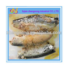 Miami 125gs enlatados sardina de pescado en aceite vegetal ( ZNSVO0017 )