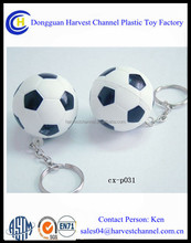 Top Selling PvC Promotional key chain Foot ball World Cup 2014