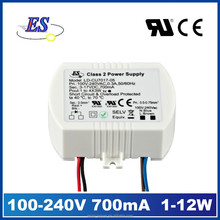 12W 700mA AC-DC Constant Current LED Driver (CE TUV UL CUL)