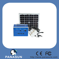 2015. New desgined for rural home lighting using solar panel light kit from China