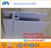 Custom excellent welding profil aluminum extusion