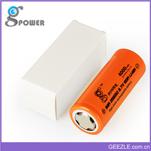 Sample free 26650 4000 mah rechargeable battery for 12v power supply with battery backup