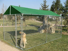 Dog Kennel Cover House Outdoor Cage Fence Large Pen Playpen Exercise