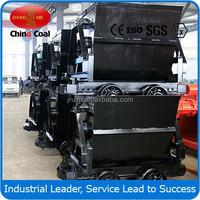 KFU0.75-6 Bucket Tipping Mine Car 600mm Rail Mine Car