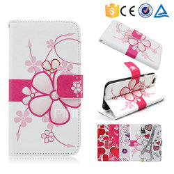 Colorful printing pu leather case flip cover for Hisense u961 for other mobile phone
