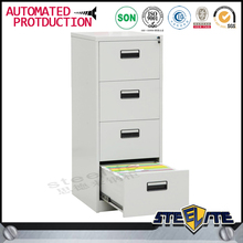 Exquisite High quality metal 4 drawer filing cabinet chrome