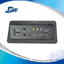 Electrical Desk Top Pop Up Socket With Power RJ45 USB Charger/Table Socket/Conference Desktop Office Outlet