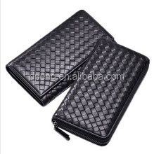 High quality long women leather wallet