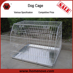 New Design 76x54x58cm Stocked Cages Light Weight Silver Metal Dog Kennel Wholesale