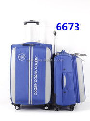 best seller high quality soft fashion luggage