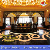 Polished porcelain Vitrified tiles 60x60cm foshan manufacturer-Crystal series 6907 black