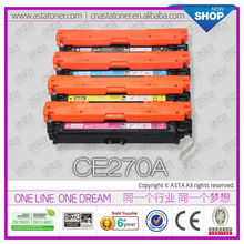 Hot Sale Top Quality Compatible Toner Cartridge CE270A 650A For HP