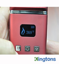 Kingtons OLED Display herbstick VS2 e cigarette vaporize