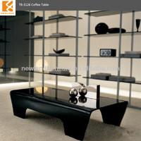Newland moden hot bent glass long tea table TB-S126