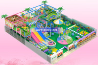 inflatable playing toy for kids indoor playground with trampoline,slide.castle and obstable