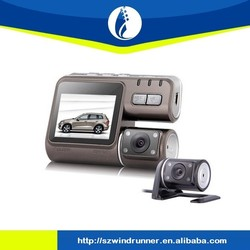 Wireless 2.0inch Screen WiFi Mini rear Dual Car dvr Rearview Reserving Camera