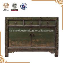 verde de madera muebles antiguos