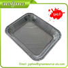 rectangular takeaway aluminum foil food tray