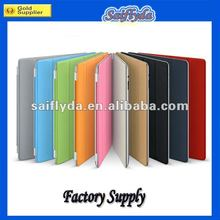 4 folding leather smart cover case for ipad3