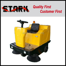 Compact mechanical road sweeper street sweeping machine for sale