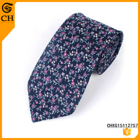 Casual Style Satin Printing Necktie For Men
