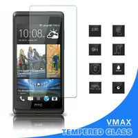 Accessories cell phone anti smudge tempered glass screen protector for htc desire 600 dual sim