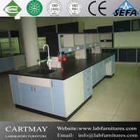 All wood casework, wood island bench, wood lab furnitures for high school, university and science laboratory