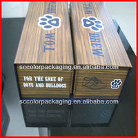 Custom-made wooden wine boxes, recycled packaging, can be customized