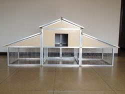 Aluminium chicken cages 01