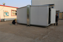Australian manufactured granny China chile project fold container homes