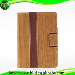 Manufacturer Wooden texture portable tablet cover,for apple ipad 5 cover