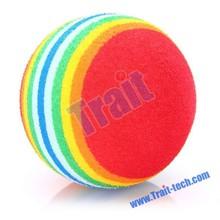 Rainbow Color Foam Golf Ball Practice Training Ball