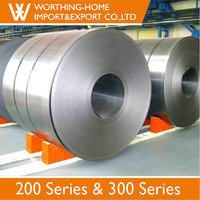Mill test certificate sample cold rolled stainless steel 201 coil 2b finish 0.9mm