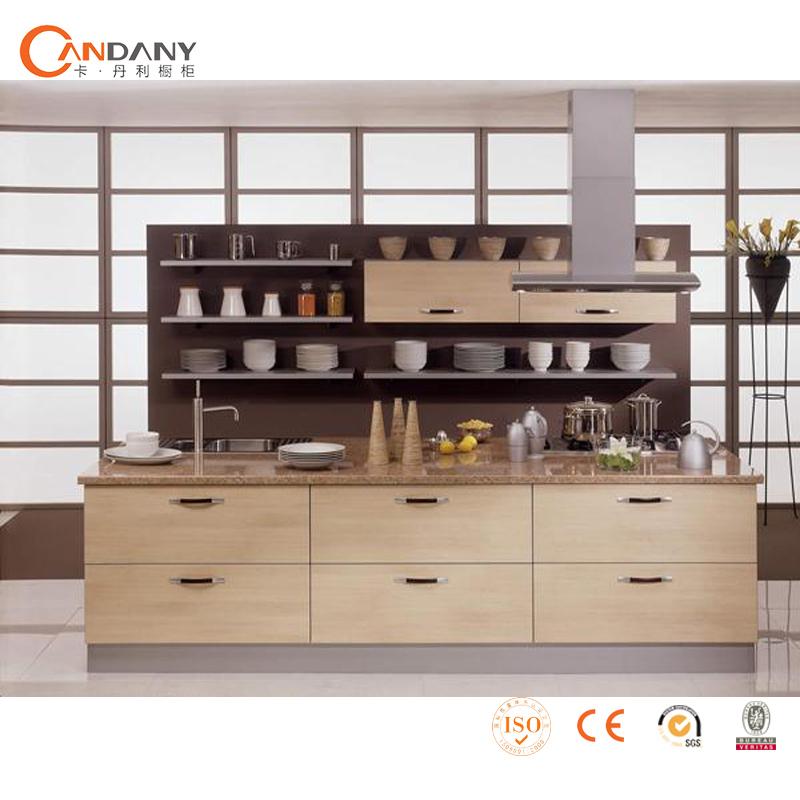 Melamine face board affordable modern kitchen cabinets for Cheap modern kitchen cabinets