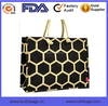 fashion canvas bag for women waterproof printed tote bag